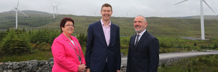 Energia opens Ireland's largest ever windfarm in Donegal